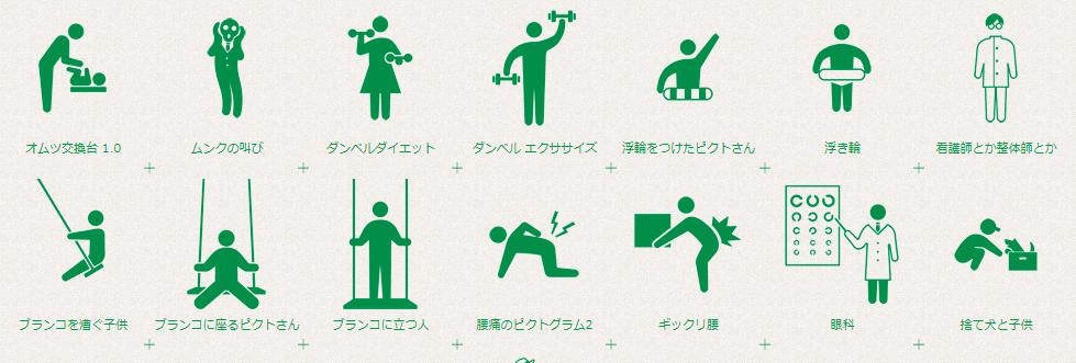 human pictogram 2.0サンプル